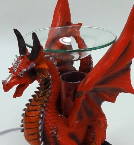 Red dragon poly resin electric oil warmer - Dragon oil warmer ...