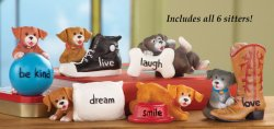 Puppies Sitters Set Of 6