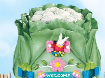 Image 2 of Easter Bunny Cabbage Garden Home