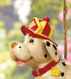 Image 1 of Firefighters' Birdhouse Dalmation