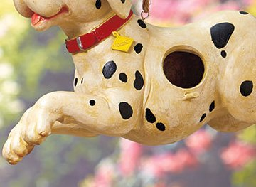 Image 2 of Firefighters' Birdhouse Dalmation