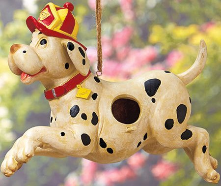 Image 4 of Firefighters' Birdhouse Dalmation