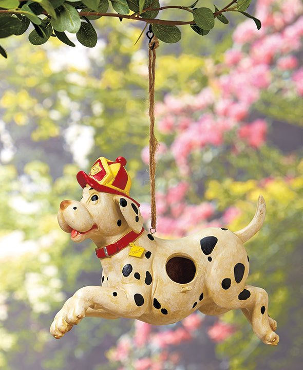 Image 5 of Firefighters' Birdhouse Dalmation