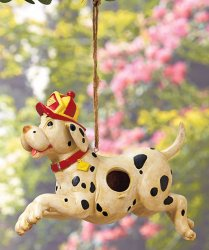 Firefighters' Birdhouse Dalmation