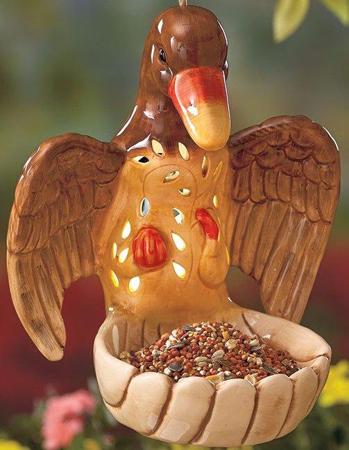 Image 4 of Solar Ceramic Duck Feeder
