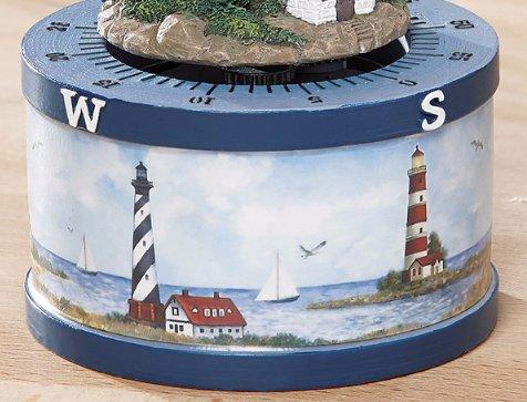 Image 4 of Nautical Lighthouse Kitchen Timer