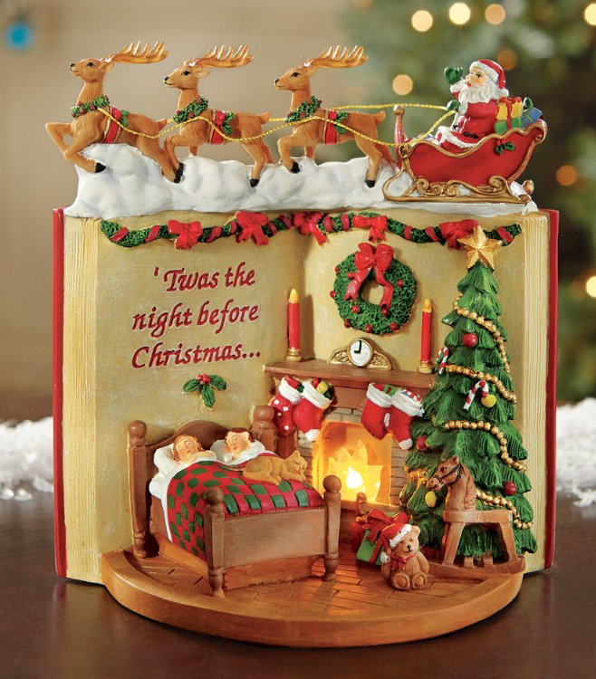 Image 0 of Lighted Night Before Christmas Tabletop