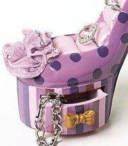 Image 1 of Polka Dot High Heel Jewelry Holder Ceramic