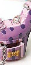 Image 3 of Polka Dot High Heel Jewelry Holder Ceramic