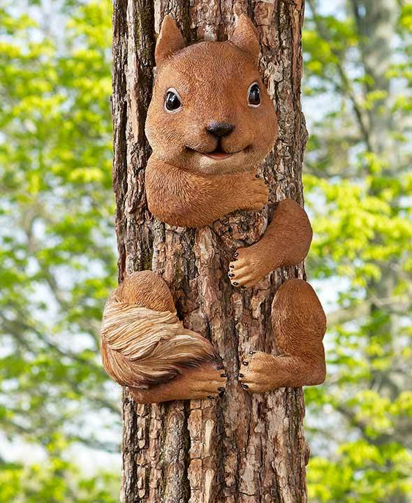 Squirrel Tree Hugger