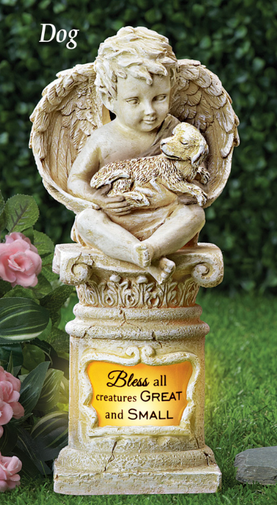 Image 0 of Dog Cherub Memorial