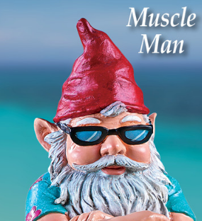 Image 1 of Muscle Man Gnome