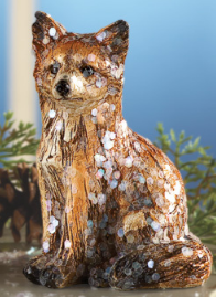 Image 1 of Tabletop Family of Four Foxes
