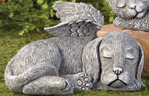 Image 0 of Winged Puppy Garden Memorial