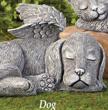 Image 3 of Winged Puppy Garden Memorial