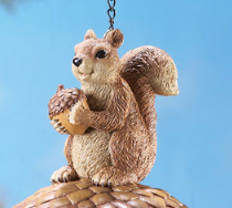 Image 3 of Squirrel on Acorn Birdhouse