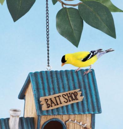 Image 3 of Bait Shop Birdhouse