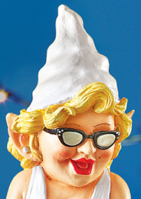 Image 2 of Dancing Diva Party Gnome