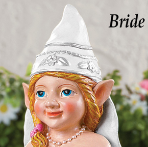 Image 1 of Wedding Bride Gnome
