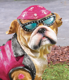 Image 1 of Girl Biker Bulldog