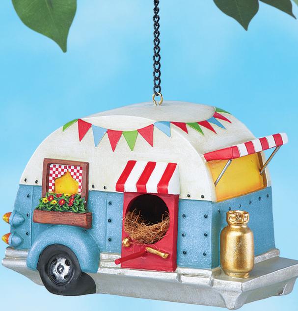 Caravan Camper Trailer Birdhouse