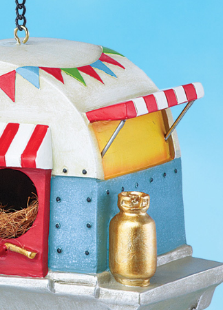 Image 2 of Caravan Camper Trailer Birdhouse