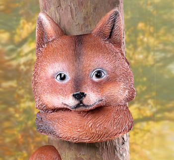 Image 1 of Woodland Fox Tree Hugger