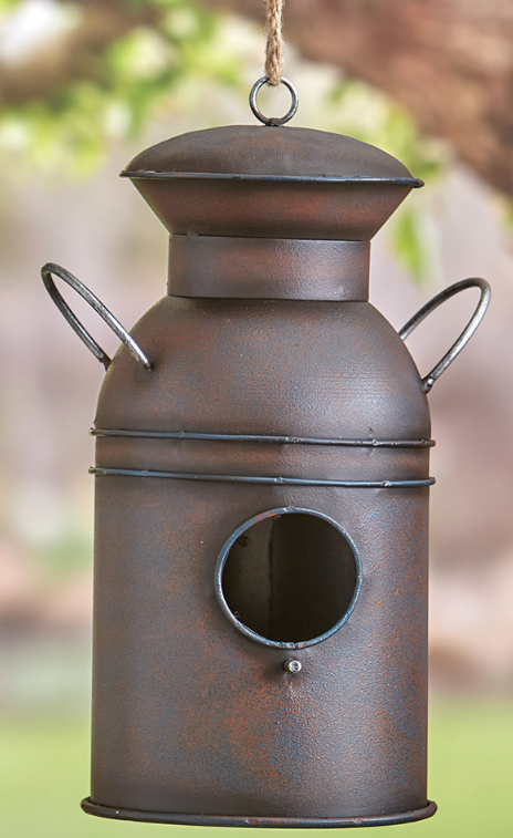 Milk-can Birdhouse