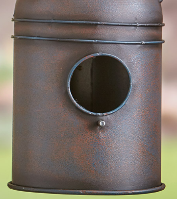 Image 2 of Milk-can Birdhouse