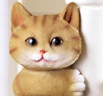 Image 1 of Kitty Tree Hugger Figurine