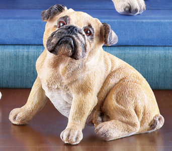Image 2 of Pug Family Set Figurines