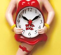 Image 2 of Betty Boop Animated Clock