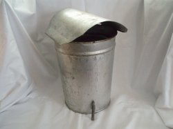 New England maple sugar Sap bucket spile and cover