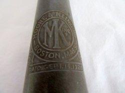 '.motor oil bottle w/cap Boston.'