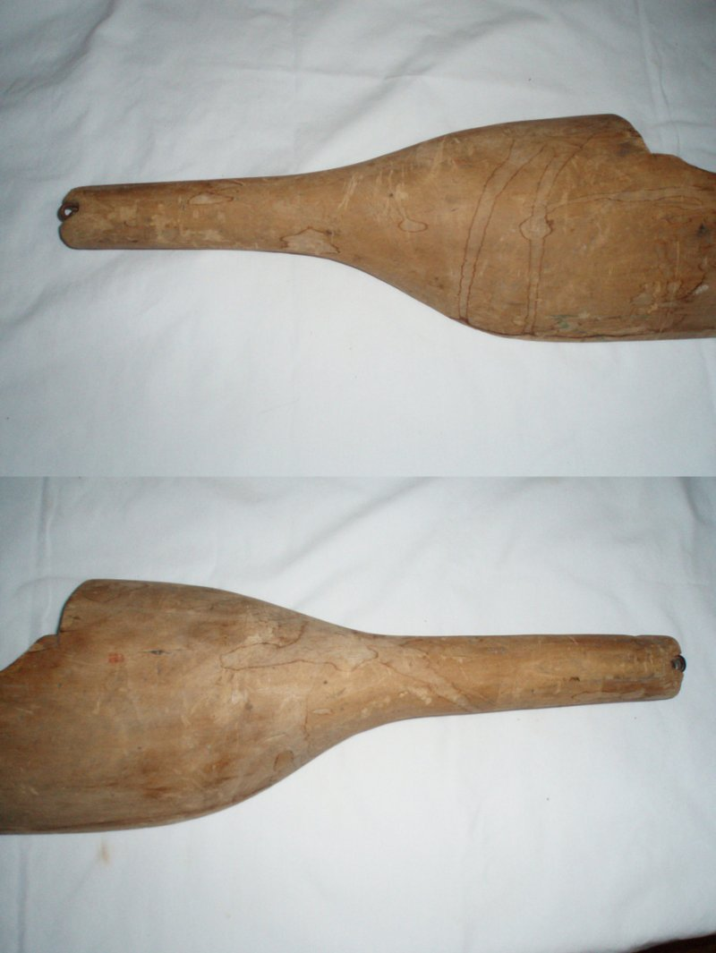 Antique new england wood sap yoke maple sugaring tool
