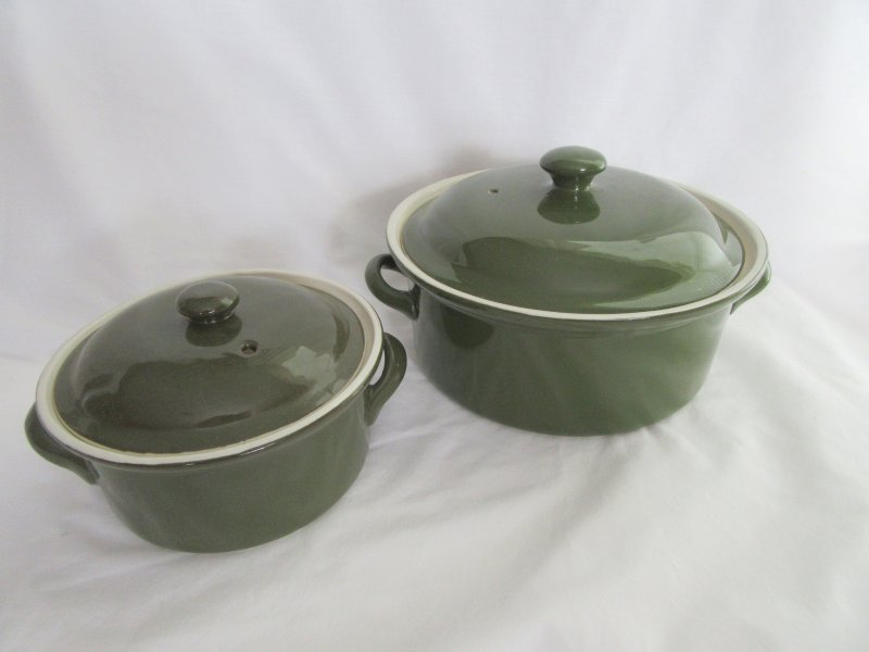 Hall Pottery Casserole Dishes