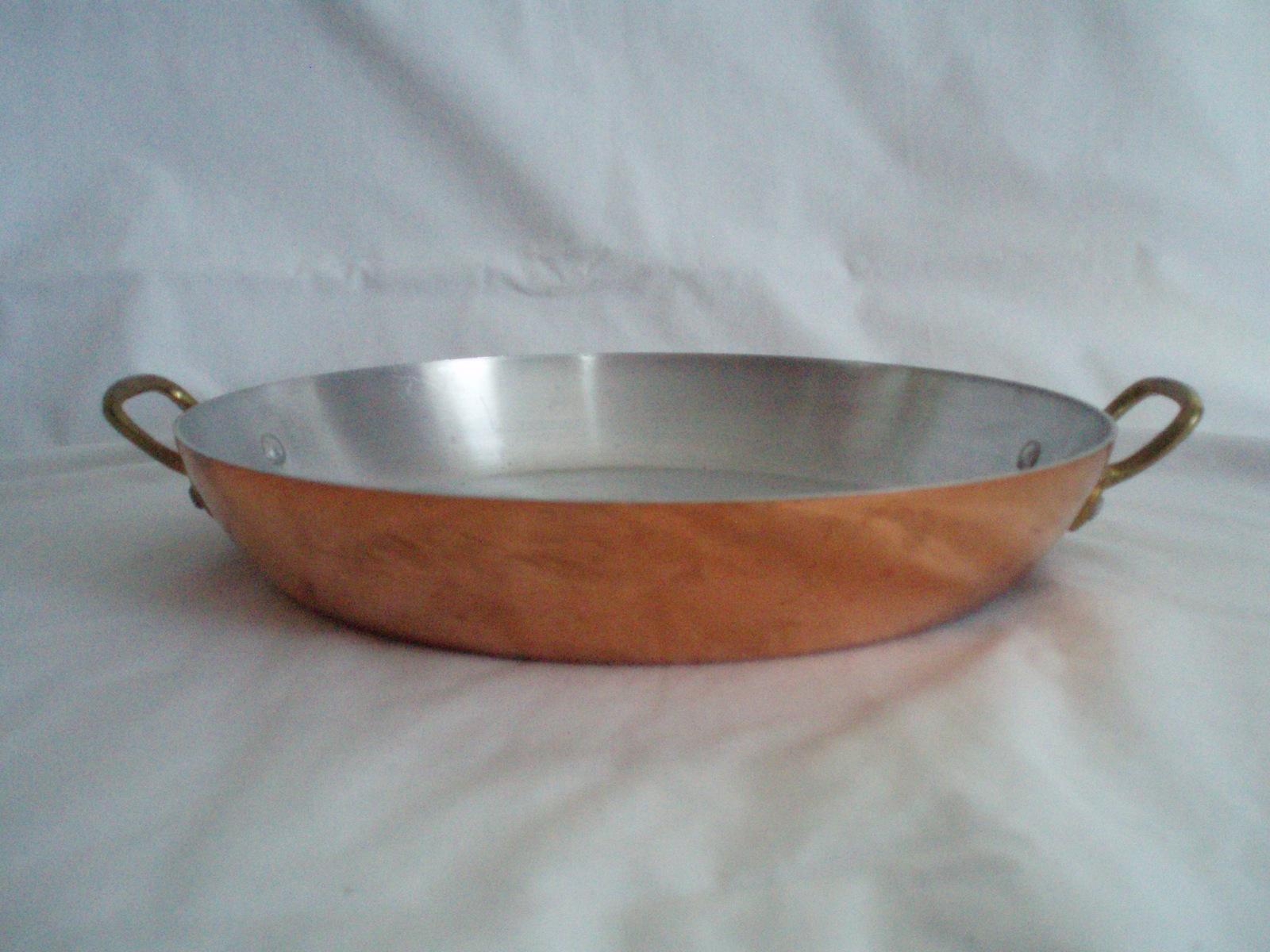 Copper Cookware Revere Ware  French Centura Baumen Vintage