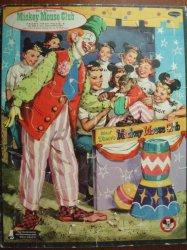Walt Disney's Mickey Mouse Club Frame Tray Puzzle vintage