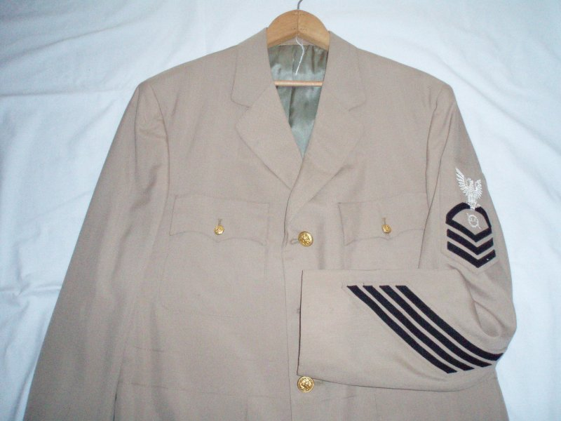 WWII Summer Uniform US Navy Chief Petty Officer Radar Man