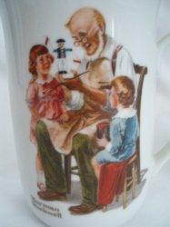 '.Norman Rockwell 1982 Mug.'