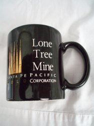 '.Lone Tree Gold Mine Mug.'