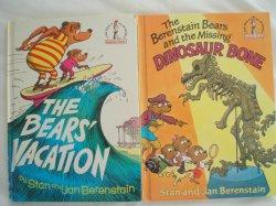 Berenstain Bears Books Hardcover Beginner Books Collection of 2