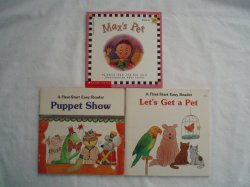 3 Learn or Teach to Read First Start Easy Books for Young Child