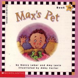 '.Max's Pet learn to Read Book.'