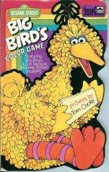 Big Bird's Color Game (Golden Sturdy Shape Book)