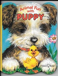 Animal Fun Puppy  by Brenda Jackson Board Book 1989