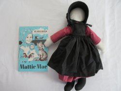 Mattie Mae Paperback Book And DOLL 1967 by Edna Beiler