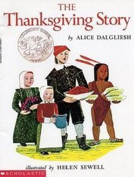 The Thanksgiving Story by Alice Dalgliesh PB 1993