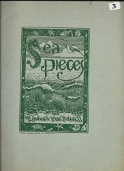 Edward Macdowell Sea Pieces Op. 55  Bound Sheet Music 1898