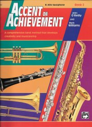 Accent on Achievement, Book 2: E-Flat Alto Saxophone